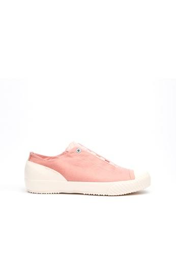 Royal Elastics 粉紅色 London英倫風帆布休閒鞋 EFC4CSH378B3BFGS_1