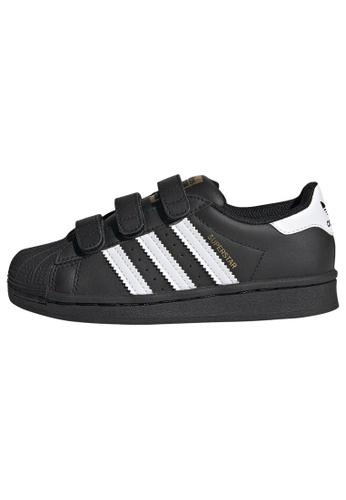 ADIDAS black adidas Originals Superstar Shoes B0C8BKS9E1ADF1GS_1