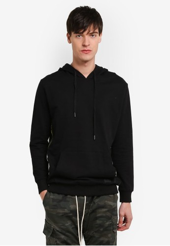Flesh IMP black Yondu Ring Hoop Tape Oversized Hoodie FL064AA0RTOXMY_1