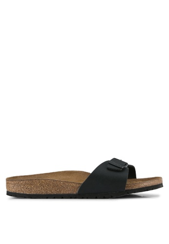 Birkenstock black Madrid Sandals BI090SH0SJ8QMY_1