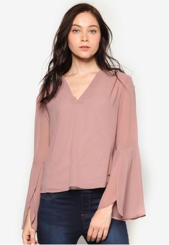 Biscaia 網紗喇叭袖T-shirt、 服飾、 上衣SmashBiscaia網紗喇叭袖上衣最新折價