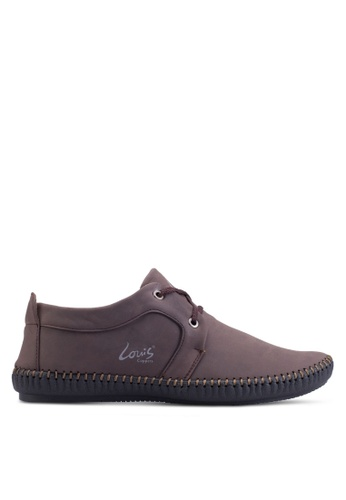 Louis Cuppers brown Fashion Sneakers LO977SH40ZLFMY_1