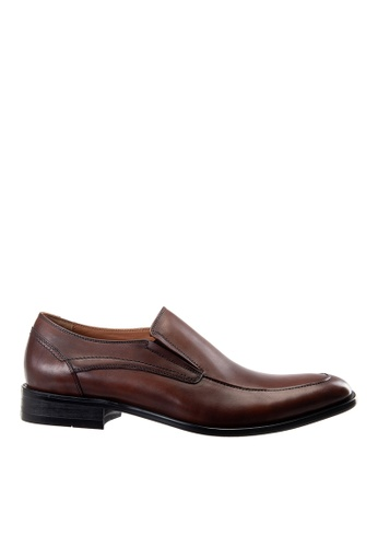 Hush Puppies brown Hush Puppies Men's Gela Slip On Dress Shoe- Brown 612FESHEA04281GS_1