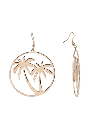 Saturation Gold Palm Tree Earrings 6f8c3acc984a09gs 1
