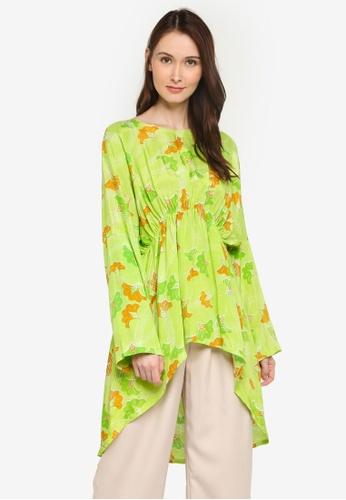 NOOR ARFA green Blouse Ankara 8E18CAA066BE97GS_1