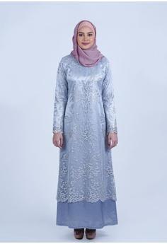 87d795b5c Bewa silver Lace A-Line Jubah 8751EAA0C3A6AEGS_1
