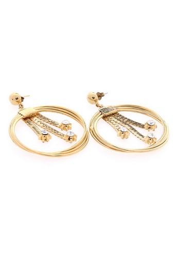 1901 Jewelry gold 1901 Jewelry Circle Earrings 770 19910AC0WT06ID_1