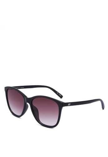 Le Specs black Entitlement 1702158 Sunglasses 88478GL2138E0EGS_1
