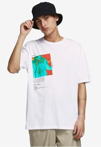 Jack & Jones 白色 Shows T恤 69518AA0DBC440GS_1