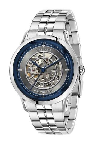 Maserati silver Ricordo Automatic Watch Silver Steel R8823133003 0F101ACC254443GS_1