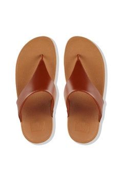 3165f03e7 FitFlop Fitflop Lulu Leather Toe Post Caramel RM 299.00. Sizes 5 6 7 9