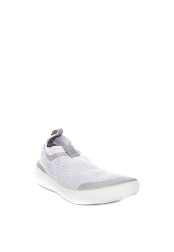 7b5a7837526e Shop Fitflop Uberknit Slip-on Sneakers - Metallic Weave Online on ZALORA  Philippines