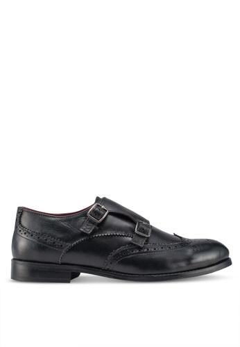 ACUTO black Leather Business Shoes 7F4E6SHF0B0FCAGS_1
