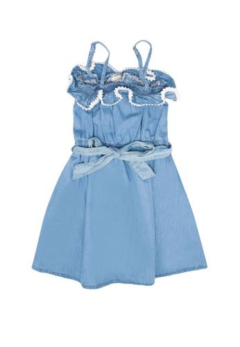 LC Waikiki blue Girl's Denim Dress 01BEDKADE894DDGS_1