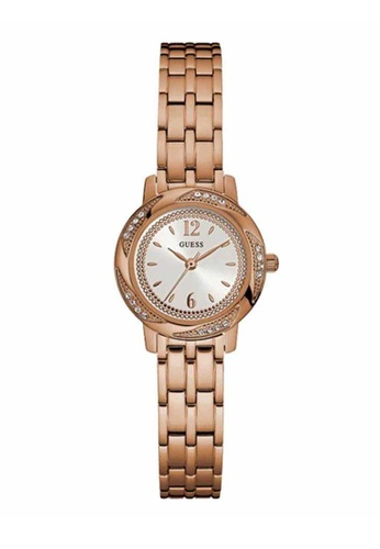 Guess Watch pink Guess Rose Gold Stainless Steel Watch GU514AC15SOIHK_1