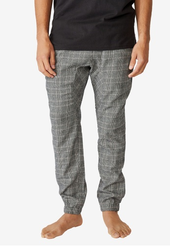 Cotton On black Pj Drake Trousers D3EC6AA6B5653EGS_1