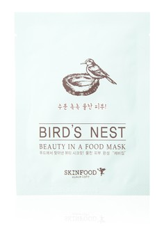 Beauty In A Food Mask Sheet, Bird's Nest Pack of 5