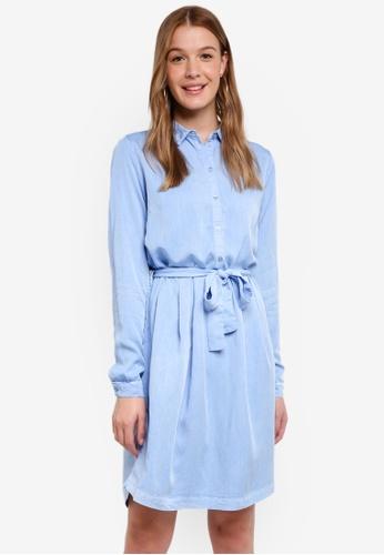 Modstrom blue Jaspi Dress B0AF2AA7FC7640GS_1