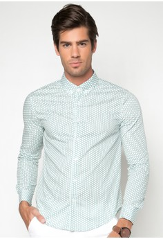 Herb Long Sleeve Polka Shirt