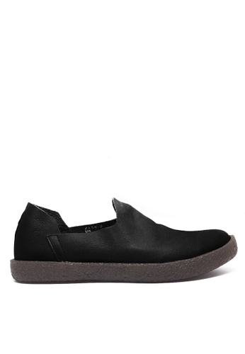 Twenty Eight Shoes black Vintage Leather Slip-ons Mc2258-2 8EDBESH6B8C1B4GS_1