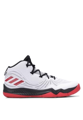adidas white adidas d rose 773 vi AD372SH0S6XFMY_1