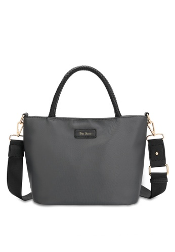Wild Channel grey Women's Water Resistant Hand Bag / Top Handle / Sling Bag 7C749ACD3C71ABGS_1