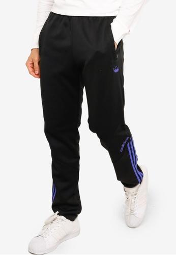 ADIDAS black sprt colorblock track pants E0F9DAA5256398GS_1