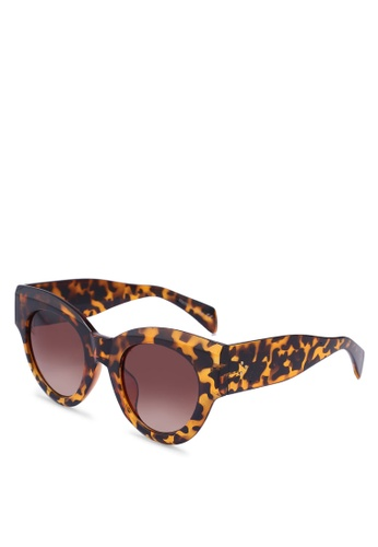 ALDO brown Ziedia Sunglasses/Cat Eye F7BD9GLDDB1F09GS_1