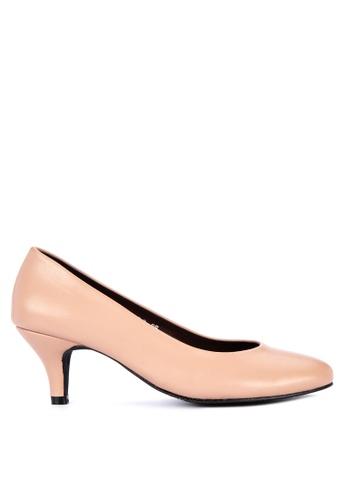 c4de60da7f711 Shop Janylin Mid Heel Court Shoes Online on ZALORA Philippines