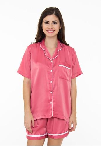 Madeleine's Sweet Pink Silk Short