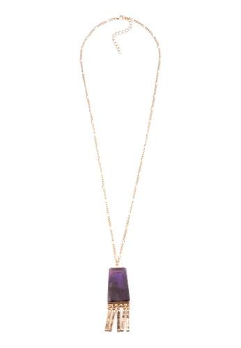 Kimberley purple and gold Majestic Necklace KI026AC0JN1MPH_1