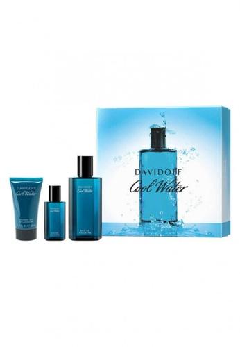 DAVIDOFF blue DAVIDOFF Cool Water Man Eau de Toilette Spring Premium Set CB029BE7EEC6B6GS_1