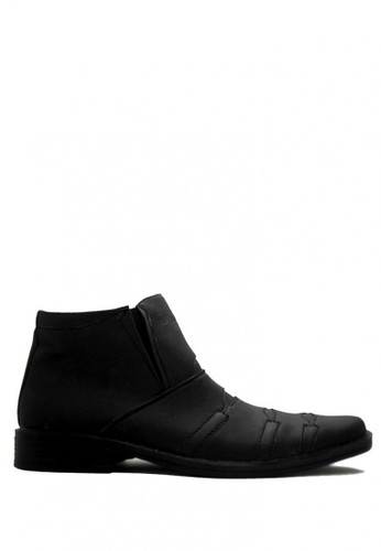 D-Island black D-Island Shoes Slip On Office Mens High Black DI594SH22SFLID_1