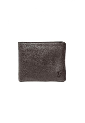 Nixon brown Nixon - Satellite Big Bill Bi-Fold ID Coin Wallet - Brown (C764400) NI855AC30RWVSG_1