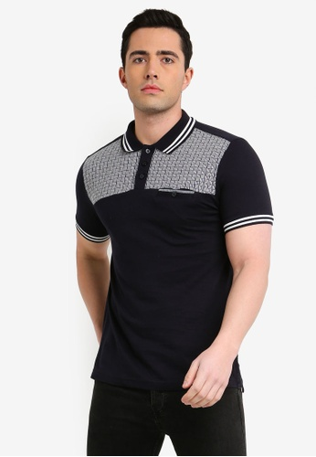 75daca5ae Shop Brave Soul Twister Shoulder Printed Polo Shirt Online on ZALORA  Philippines