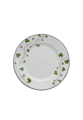 Minh Long I white Jasmine: Porcelain Flat Round Plate (22cm) 07863HLDFCB72BGS_1