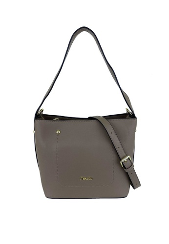 Mel&Co brown Faux Leather Sling Bag 95D08AC7ACED87GS_1