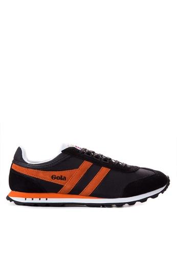 Gola black and orange Boston Sneakers GO513SH17TRYPH_1