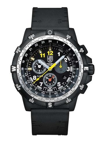Luminox black Luminox Recon Team Leader Black Rubber Watch 1CFC4AC89EC0CEGS_1