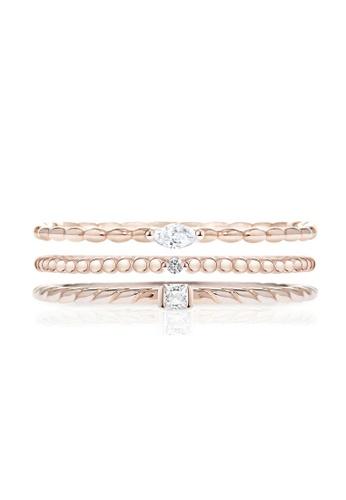 Morellato gold Morellato 1930 Stering Silver 925 Zircons Ladies Ring SAHA12014 2460FAC5B9A289GS_1