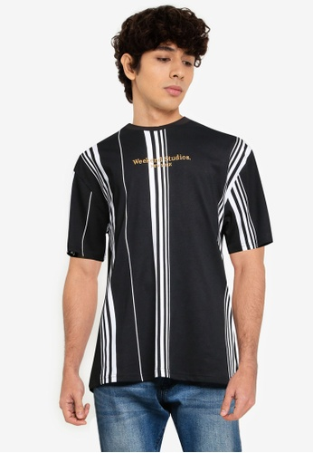 Cotton On black Downtown T-Shirt C9FF0AA39974FDGS_1