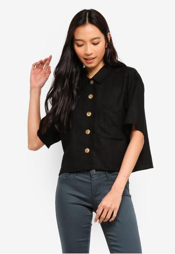 Cotton On black Meg Shirt E5A7FAA1874417GS_1