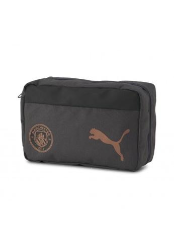 Puma grey Man City Team Football Wash Bag 9C6DFAC629D879GS_1