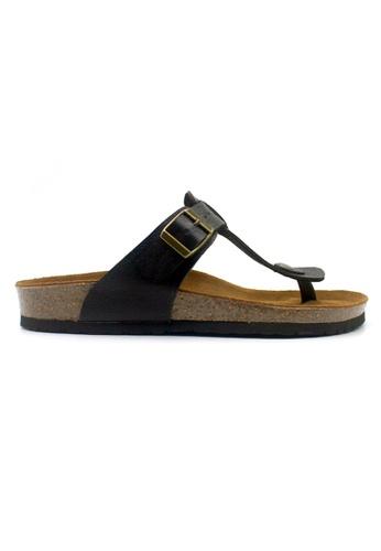 SoleSimple black Copenhagen - Black Leather Sandals & Flip Flops 27F03SH37D321AGS_1