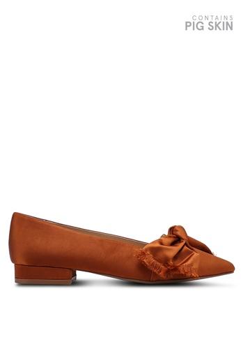 E8 by Miista 紅色 綢緞高跟樂福鞋 96B99SHAEF6734GS_1