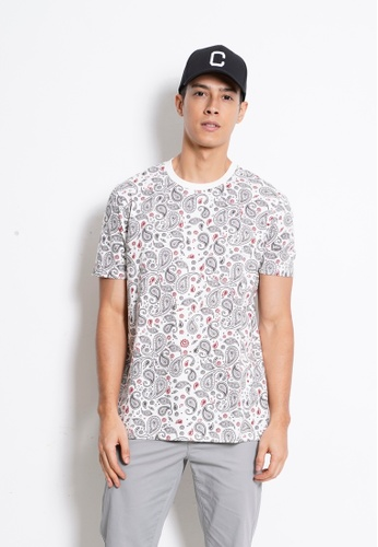 Hi Style Graphic Short Sleeve T-Shirt AC7D3AAEA7378EGS_1
