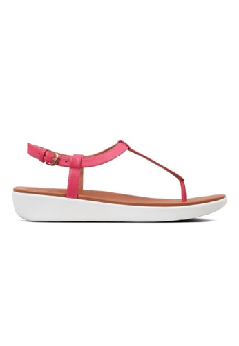 FitFlop pink Fitflop Tia Toe-Thong Sandals Leather Psychedelic Pink 9B10FSH536A420GS_1