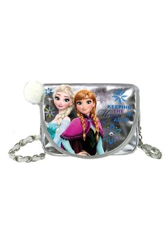 Disney Frozen silver DISNEY FROZEN AGLOW BLING BLING SLING BAG E3761KC9567AB4GS_1