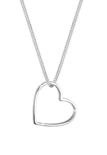 心形 9esprit bag25 純銀項鍊, 飾品配件, 項鍊