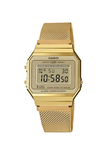 Casio gold Casio Men's Vintage A700WMG-9ADF Gold ion plated band Digital Watch 90008AC1B1E9FBGS_1